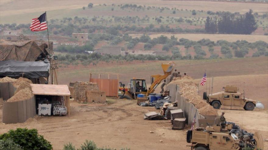 Una base estadounidenses ubicada cerca de la ciudad de Manbij, en el norte de Siria, 8 de mayo de 2018. (Foto: Reuters)