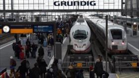 Huelgas interrumpen grandes líneas ferroviarias de Alemania