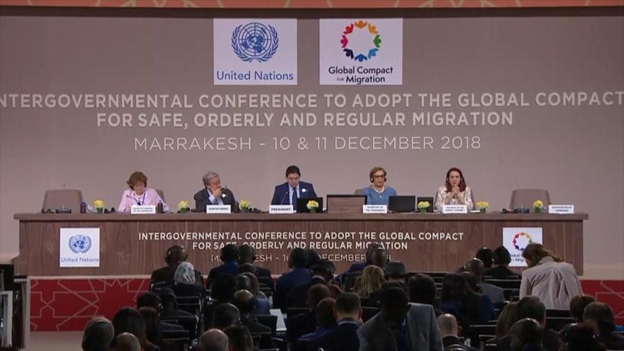 Más de 150 países aprueban Pacto Migratorio Mundial de la ONU