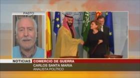 'Gobierno de España viola su legalidad al vender armas a Riad'