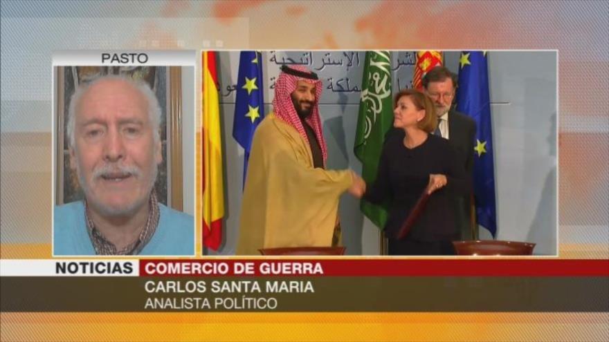Santa María: Gobierno español viola su legalidad al vender armas a Riad