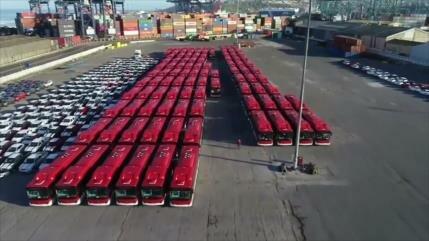 Chile compra buses eléctricos, primeros en América Latina