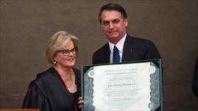 Bolsonaro promete gobernar sin prejuicios de sexo, raza o religión
