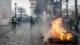 Rusia descarta estar involucrada en protestas de Francia