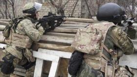 Fuerzas rusas abaten a 65 terroristas en su territorio en 2018