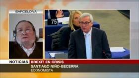 Becerra: May busca salvar Brexit con un acuerdo parcial con UE