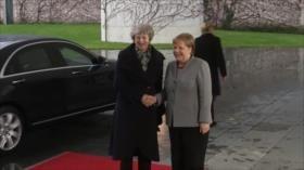 May inicia contactos con líderes europeos para salvar el Brexit