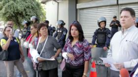 Protestan contra ataques a prensa independiente en Honduras