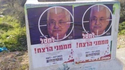 Grupos radicales israelíes piden asesinar a presidente palestino