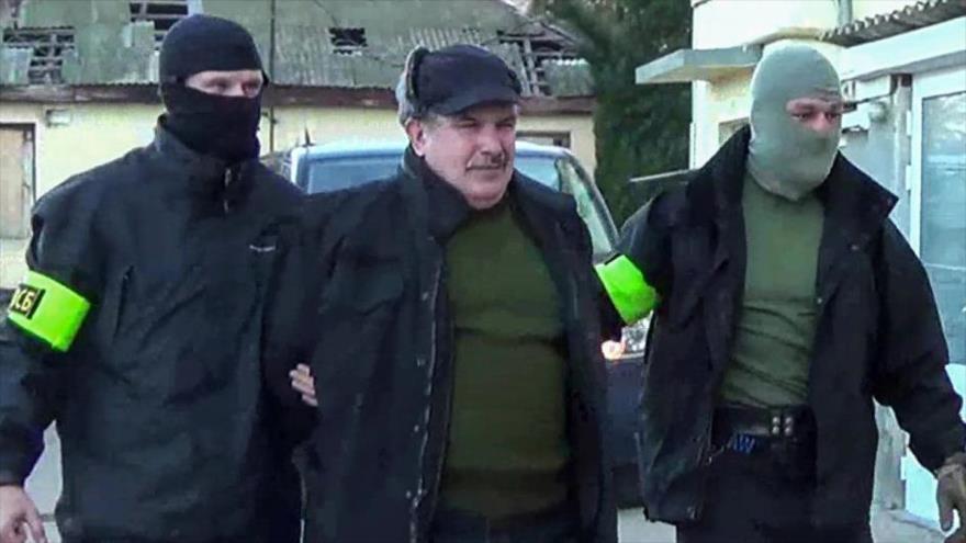 Rusia arresta en 2016 a Leonid Parkhomenko, un oficial retirado de la Armada rusa, por cargo de espionaje.