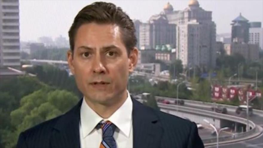Michael Kovrig, exdiplomático canadiense detenido en China.