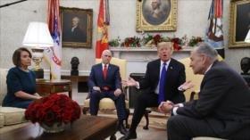 Trump ejemplifica Israel para mostrar efectividad de su muro