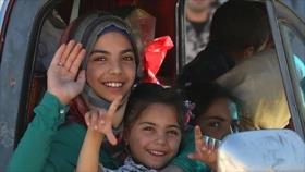 ONU prevé el regreso de 250 000 sirios a su país en 2019