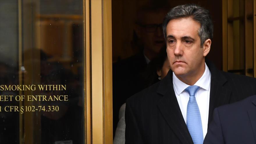 Cohen, condenado a prisión por pagos para silenciar adulterios de Trump
