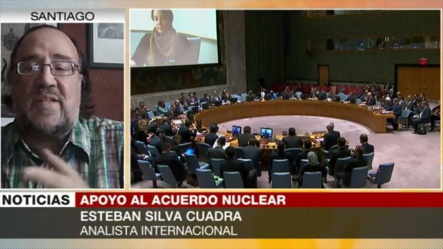 Silva Cuadra: Apoyo a Irán en la ONU es una derrota para EEUU