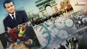 """10 Minutos: Macron vs. los """"chalecos amarillos"""""""