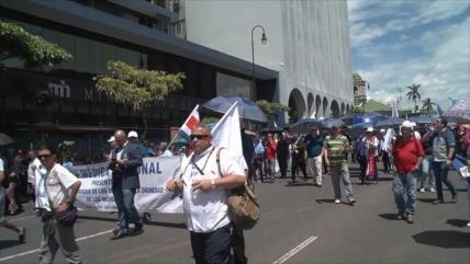 Sindicatos molestos en Costa Rica por grandes evasores