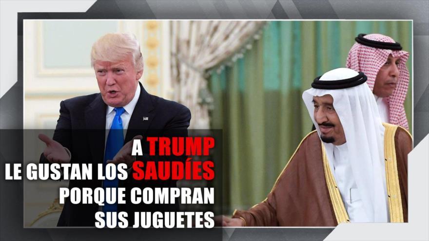 A Trump le gustan los saudíes porque compran sus juguetes