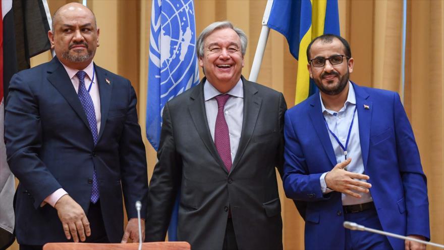 ONU anuncia acuerdo para una tregua en la ciudad yemení de Al-Hudayda