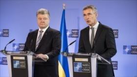 """OTAN promete apoyar a Ucrania ante """"acciones agresivas de Rusia"""""""