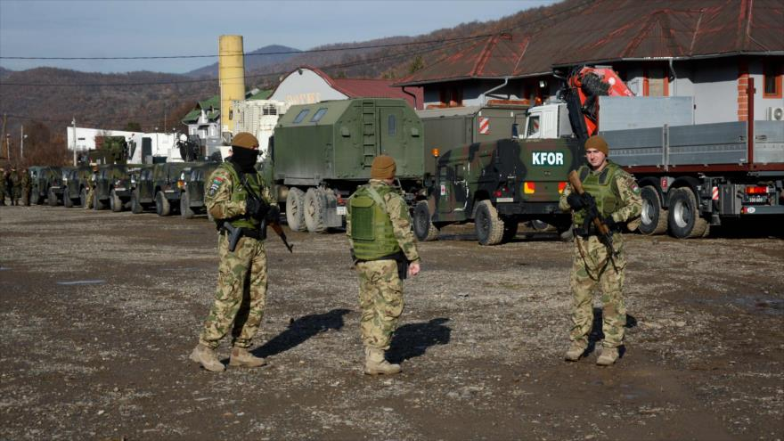 OTAN mueve sus tropas a Kosovo en medio de tensiones con Serbia