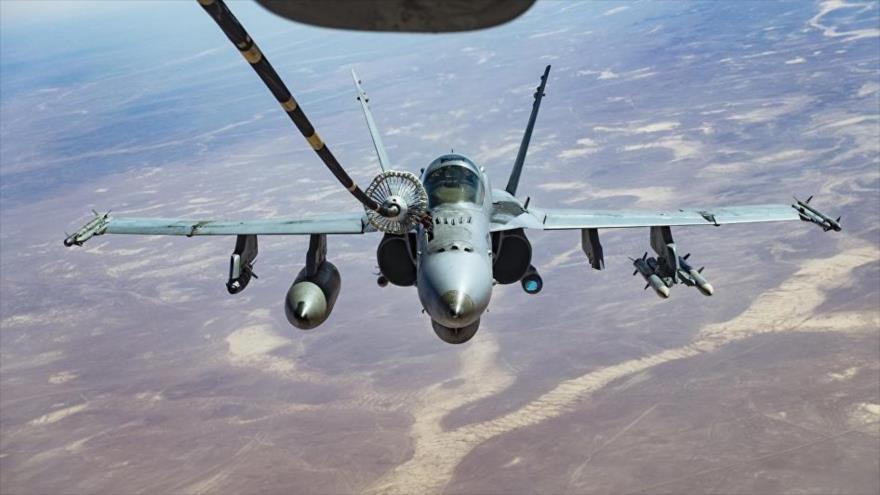 EEUU recuperará $331 millones a Riad por repostaje de cazas en Yemen