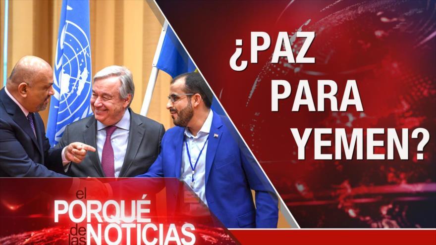 El Porqué de las Noticias: Conflicto Israel-Palestina. Diálogos de Paz sobre Yemen. Protestas en Colombia