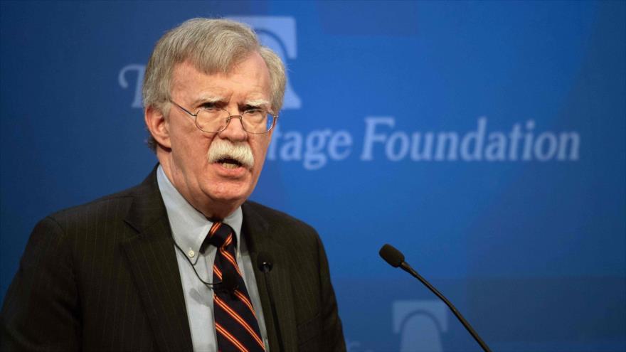 Asesor de Seguridad Nacional de EE.UU., John Bolton, en una conferencia en la Fundación Heritage (Washington), 13 de diciembre de 2018. (Foto: AFP)