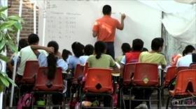 Estado mexicano de Chiapas, hundido en el rezago educativo