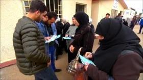 Refugiados sirios abogan por volver a su patria