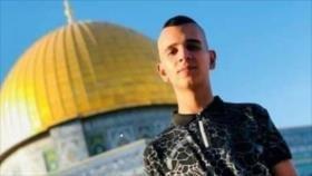 Soldados israelíes matan a tiros a un adolescente palestino