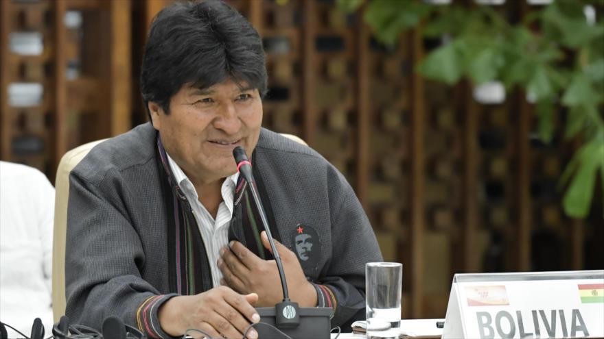 Morales denuncia en la ALBA nuevas formas de golpismo de EEUU