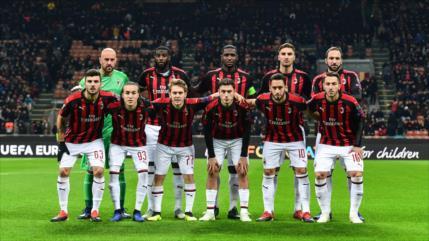 UEFA multa al Milan con € 12 millones y le avisa de expulsión
