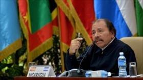 """Ortega denuncia en cumbre de la ALBA """"crímenes de guerra"""" de EEUU"""