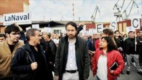 """Iglesias aboga por """"gestión democrática"""" del conflicto con Cataluña"""
