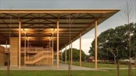Una construcción de madera, el mejor edificio del mundo