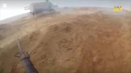 Terroristas de Daesh dejan a su comandante y huyen de batalla