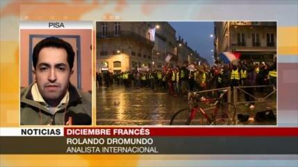 Dromundo: Menos manifestantes no significa la victoria de Macron