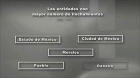 Desde México: Linchamientos, crisis de seguridad y justicia