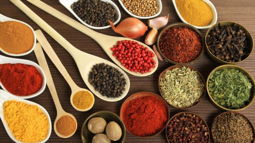 Usar especias en las comidas puede reducir el estrés y la ansiedad.