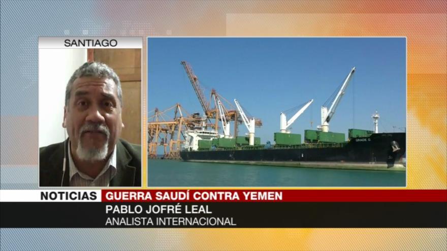 """Jofré Leal: Riad no es """"de fiar"""" para proceso de paz de Yemen"""
