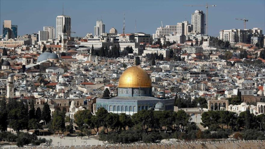 Vista de la ciudad palestina de Al-Quds (Jerusalén) ocupado por el régimen de Israel.