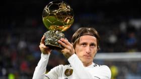 Modric censura ausencia de Messi y Ronaldo en gala de Balón de Oro