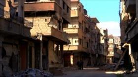100 000 civiles vuelven a sus hogares cerca de Damasco