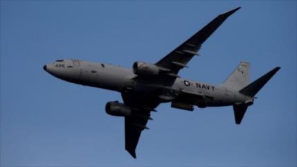 Avión espía de EEUU vigila bases militares rusas en costas sirias