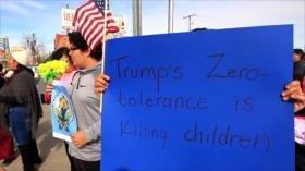 Indignación por muerte de niña migrante guatemalteca