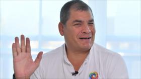 'No saben qué inventar': Correa niega anomalías en vuelos oficiales