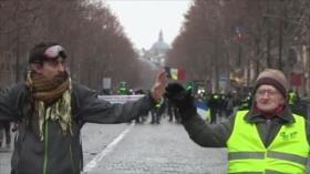 Resistencia palestina. Protestas en Europa. Macron en caída libre