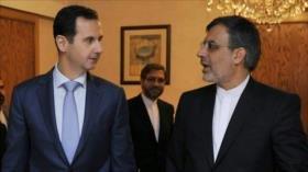 Al-Asad elogia esfuerzos de Irán ante 'obstáculos' del Occidente