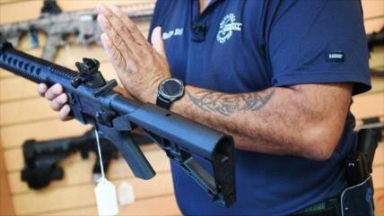 Alcanzan niveles récord tasa de muertes por armas de fuego en EEUU